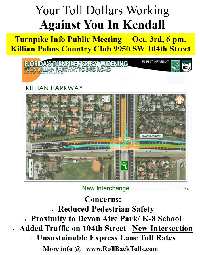 Killian Oct 3 meeting flyer