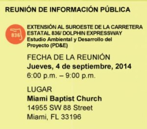 836 expantion meeting notice Spanish